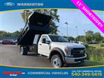 2019 F-550 Regular Cab DRW 4x4, Rugby Eliminator LP Steel Dump Body #YA19060 - photo 1