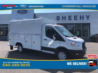 2020 Ford Transit 350 RWD, Reading Aluminum CSV Service Utility Van #YA19349 - photo 1