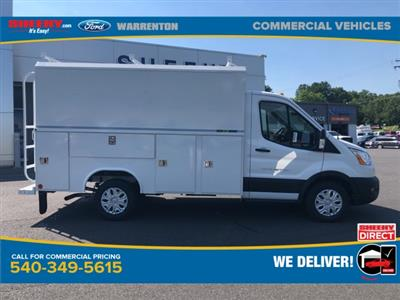 2020 Ford Transit 350 RWD, Reading Aluminum CSV Service Utility Van #YA19349 - photo 4