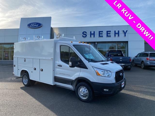 2021 Ford Transit 350 HD DRW 4x2, Knapheide Service Utility Van #YA20524 - photo 1