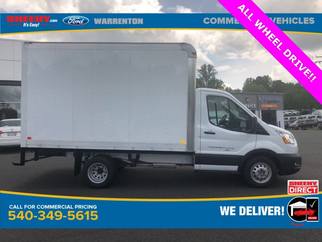 2020 Ford Transit 350 HD DRW AWD, Dejana DuraCube Box Truck #YA26844 - photo 4