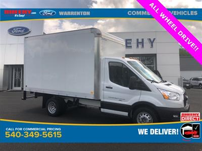 2020 Ford Transit 350 HD DRW AWD, Dejana DuraCube Box Truck #YA26844 - photo 1