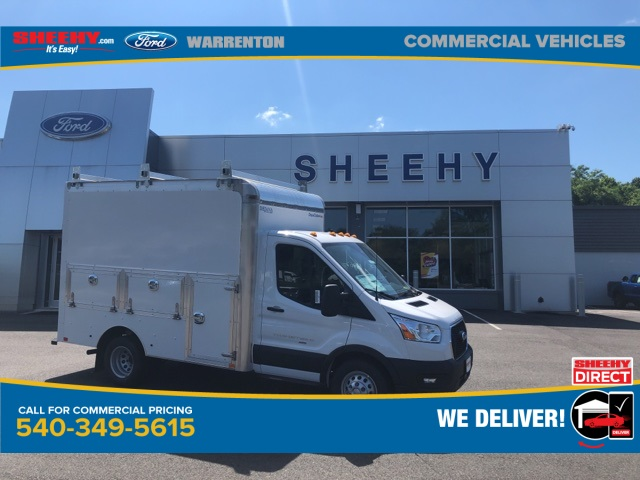 2020 Ford Transit 350 HD DRW AWD, Dejana Service Utility Van #YA26845 - photo 1