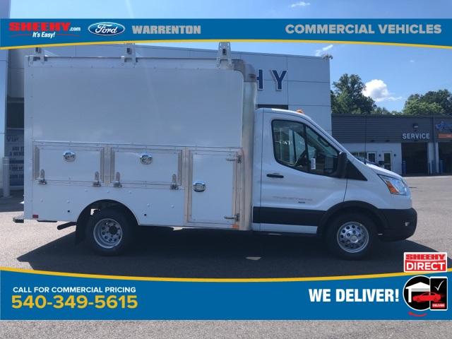 2020 Ford Transit 350 HD DRW AWD, Dejana DuraCube Max Service Utility Van #YA26845 - photo 4