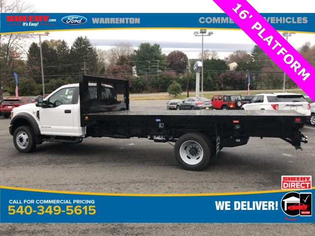 2019 F-550 Regular Cab DRW 4x2, Knapheide Platform Body #YA27173 - photo 1