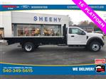 2019 F-550 Regular Cab DRW 4x2, Knapheide Value-Master X Platform Body #YA27173 - photo 4