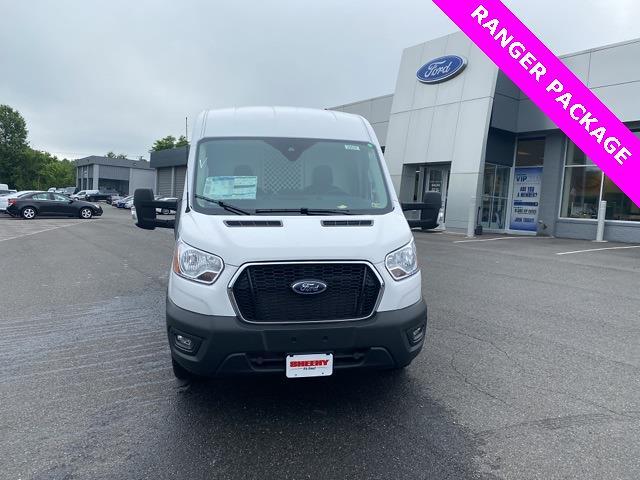 2021 Ford Transit 250 Medium Roof 4x2, Ranger Design General Service Upfitted Cargo Van #YA33748 - photo 4