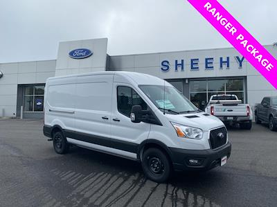 2021 Ford Transit 250 Medium Roof 4x2, Ranger Design General Service Upfitted Cargo Van #YA33748 - photo 1