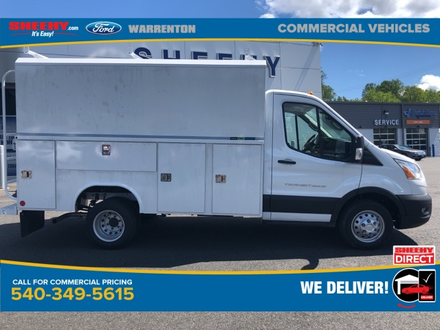 2020 Transit 350 HD DRW RWD, Reading Aluminum CSV Service Utility Van #YA46423 - photo 4