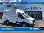 2020 Transit 350 HD DRW RWD, Reading Aluminum CSV Service Utility Van #YA46423 - photo 1