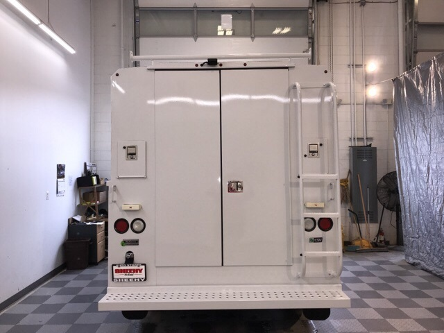 2019 Transit 350 4x2,  Reading Aluminum CSV Service Utility Van #YA54242 - photo 2