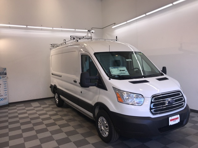 2019 Transit 250 Med Roof 4x2,  Ranger Design Upfitted Cargo Van #YA63406 - photo 4