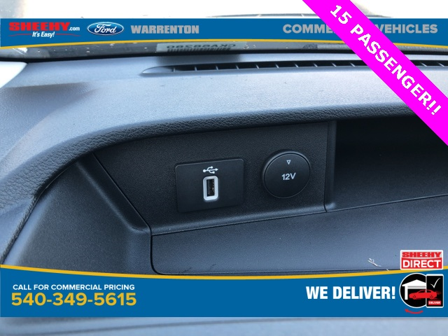 2020 Ford Transit 350 Low Roof RWD, Passenger Wagon #YA68280 - photo 15