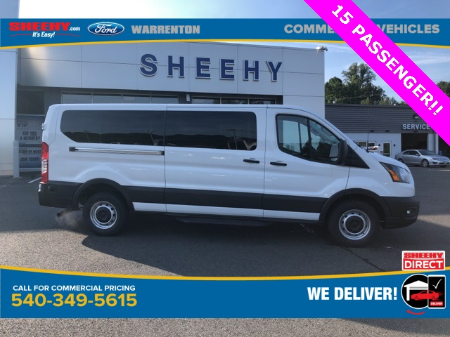 2020 Ford Transit 350 Low Roof RWD, Passenger Wagon #YA68280 - photo 4
