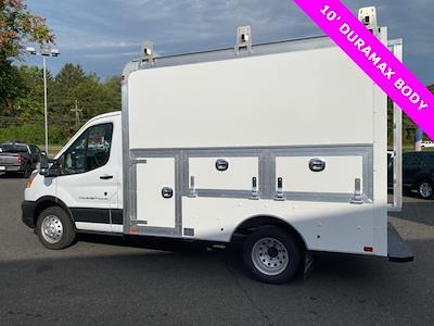 2021 Transit 350 HD Low Roof 4x2,  Dejana Truck & Utility Equipment DuraCube Max Service Utility Van #YA77880 - photo 2