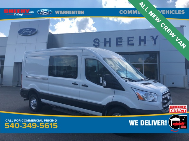 2020 Ford Transit 150 Med Roof 4x2, Crew Van #YA91443 - photo 1
