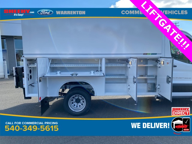 2020 Ford Transit 350 HD DRW 4x2, Reading Aluminum CSV Service Utility Van #YB23941 - photo 6