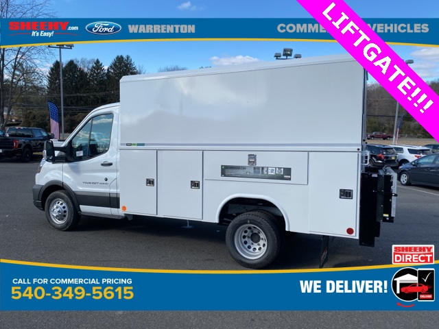2020 Ford Transit 350 HD DRW 4x2, Reading Service Utility Van #YB23941 - photo 1