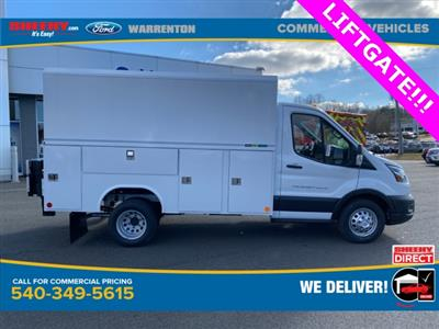 2020 Ford Transit 350 HD DRW 4x2, Reading Aluminum CSV Service Utility Van #YB23941 - photo 4