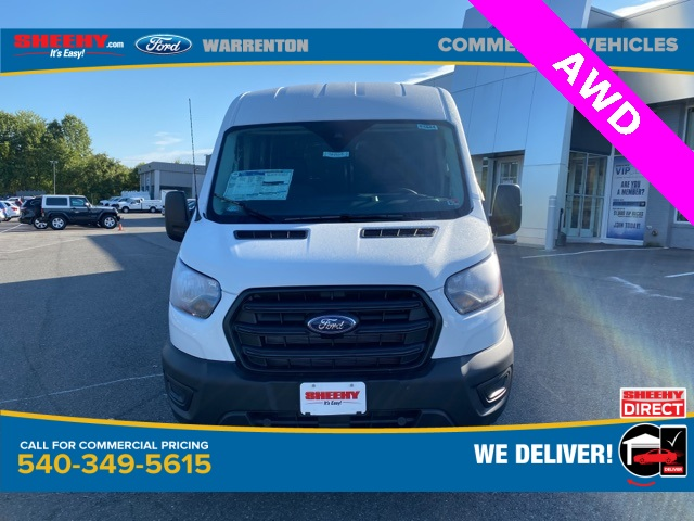 2020 Ford Transit 250 Med Roof AWD, Empty Cargo Van #YB29219 - photo 3