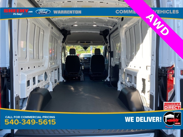 2020 Ford Transit 250 Med Roof AWD, Empty Cargo Van #YB29219 - photo 2