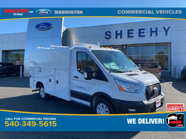 2020 Ford Transit 350 4x2, Knapheide Service Utility Van #YB31698 - photo 1