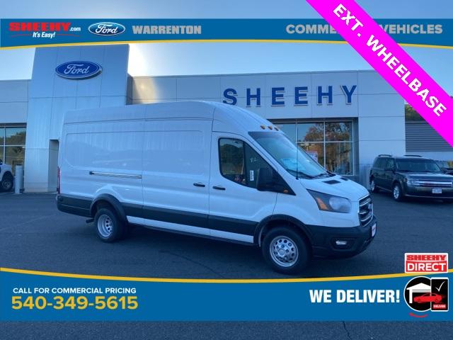 2020 Ford Transit 350 HD High Roof DRW RWD, Empty Cargo Van #YB35560 - photo 1
