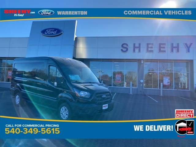2020 Ford Transit 250 Med Roof 4x2, Empty Cargo Van #YB42568 - photo 1