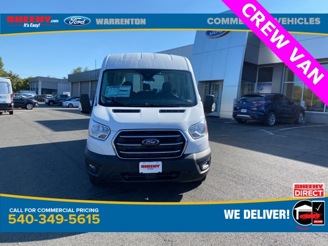2020 Ford Transit 250 Med Roof RWD, Crew Van #YB42569 - photo 3