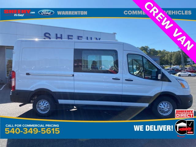 2020 Ford Transit 250 Med Roof RWD, Crew Van #YB42569 - photo 4