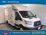 2018 Transit 350 HD DRW 4x2,  Rockport Workport Service Utility Van #YB55780 - photo 1