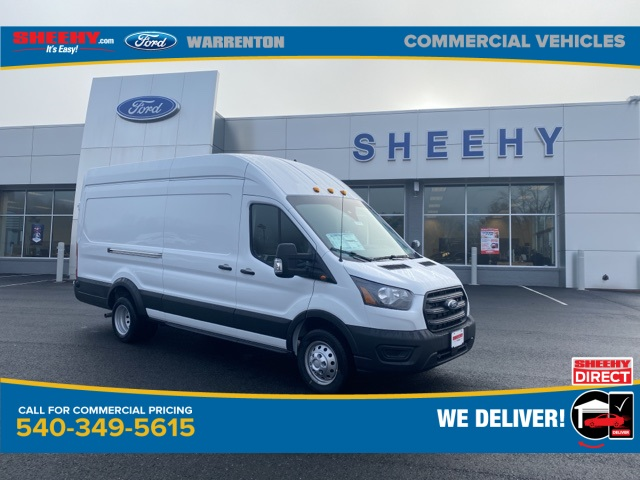 2020 Ford Transit 350 HD High Roof DRW 4x2, Empty Cargo Van #YB58649 - photo 1