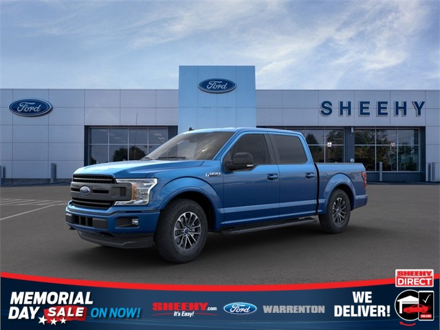 2020 F-150 SuperCrew Cab 4x4, Pickup #YB62760 - photo 1