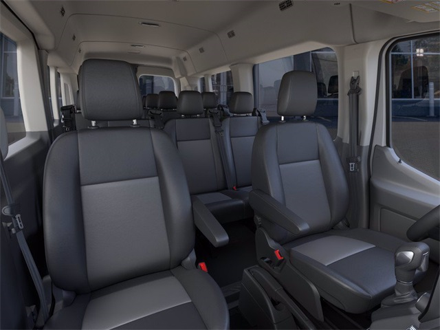 2020 Ford Transit 350 Med Roof 4x2, Passenger Wagon #YB77551 - photo 10