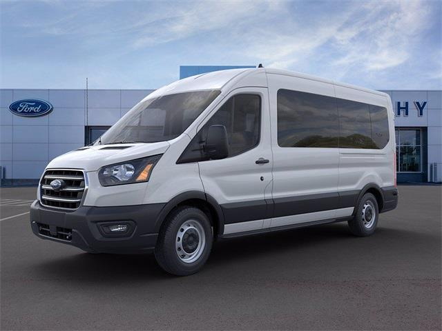 2020 Ford Transit 350 Med Roof 4x2, Passenger Wagon #YB77551 - photo 3
