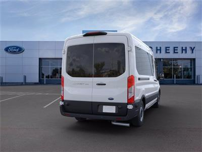 2020 Ford Transit 350 Med Roof 4x2, Passenger Wagon #YB77551 - photo 8