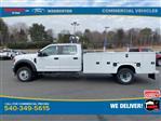 2021 Ford F-550 Crew Cab DRW 4x4, Knapheide Steel Service Body #YC13661 - photo 9