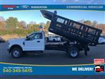 2020 F-350 Regular Cab DRW 4x4, Rugby Versa Rack Landscape Dump #YC13986 - photo 3