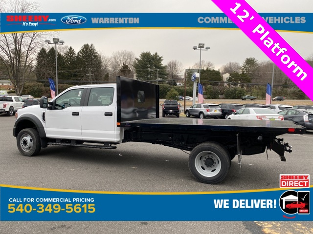 2021 Ford F-450 Crew Cab DRW 4x2, PJ's Platform Body #YC14359 - photo 8