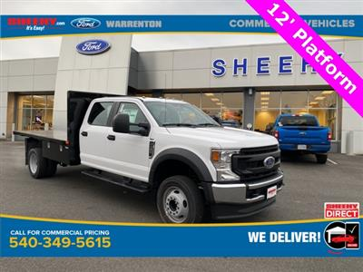 2021 Ford F-450 Crew Cab DRW 4x2, PJ's Platform Body #YC14359 - photo 1
