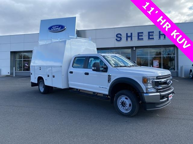 2021 Ford F-550 Crew Cab DRW 4x4, Knapheide Service Body #YC23239 - photo 1