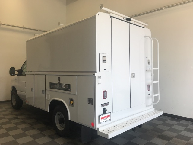 2019 E-350 4x2, Reading Aluminum CSV Service Utility Van #YC40093 - photo 2