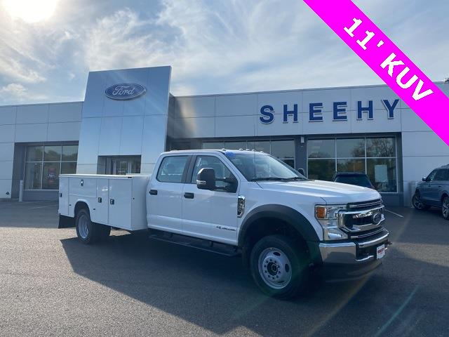 2021 Ford F-550 Crew Cab DRW 4x4, Knapheide Service Body #YC42735 - photo 1