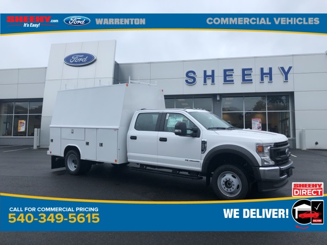 2020 Ford F-550 Crew Cab DRW 4x4, Reading Service Body #YC55451 - photo 1