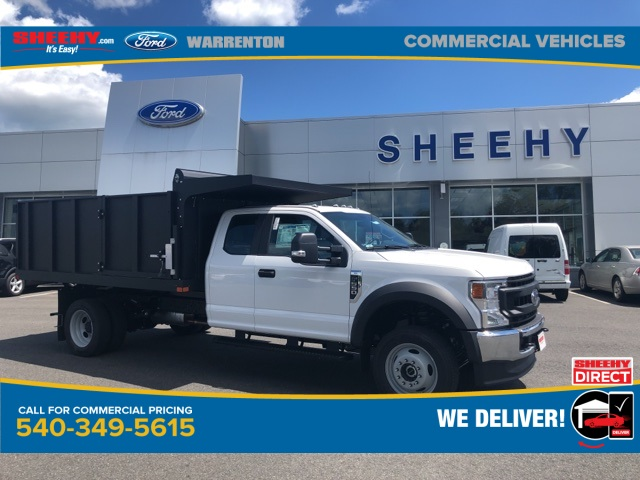 2020 Ford F-550 Super Cab DRW 4x4, Rugby Landscape Dump #YC55671 - photo 4