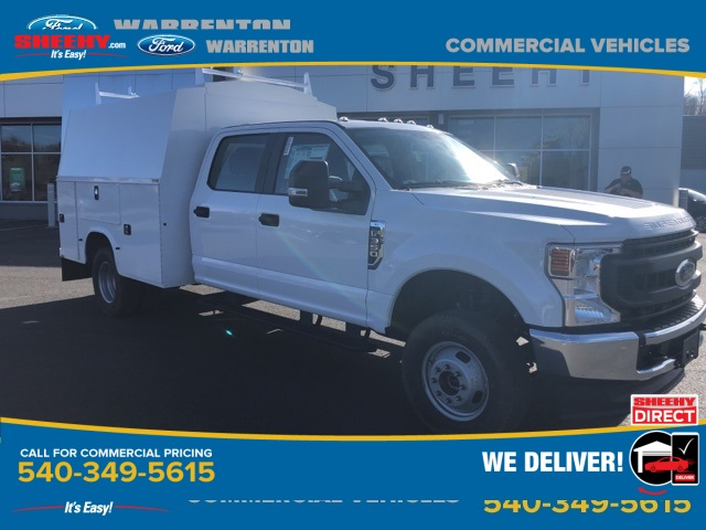 2020 Ford F-350 Crew Cab DRW 4x4, Knapheide Service Body #YC55825 - photo 1
