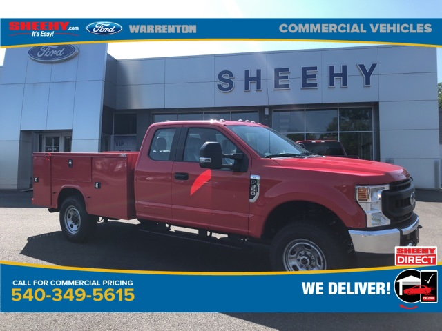 2020 Ford F-350 Super Cab 4x4, Knapheide Service Body #YC56282 - photo 1