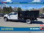 2021 Ford F-550 Crew Cab DRW 4x4, PJ's Landscape Dump #YC75945 - photo 2