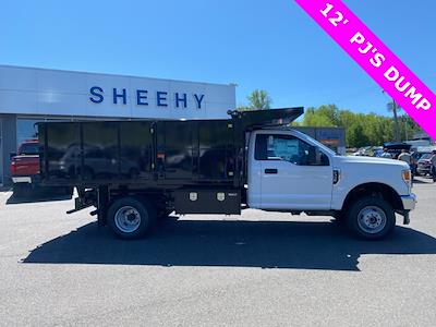 2021 F-350 Regular Cab DRW 4x4,  PJ's Truck Bodies Landscape Dump #YD10276 - photo 6
