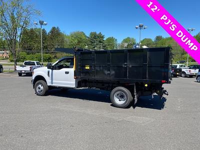2021 F-350 Regular Cab DRW 4x4,  PJ's Truck Bodies Landscape Dump #YD10276 - photo 2
